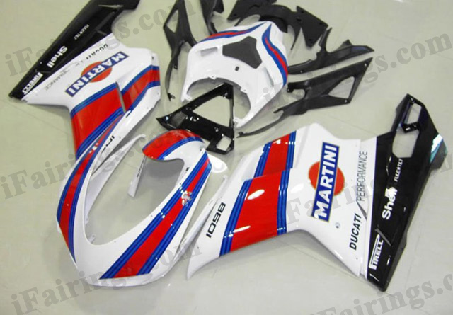 aftermarket fairing kit for Ducati 848/1098/1198 MARTINI.