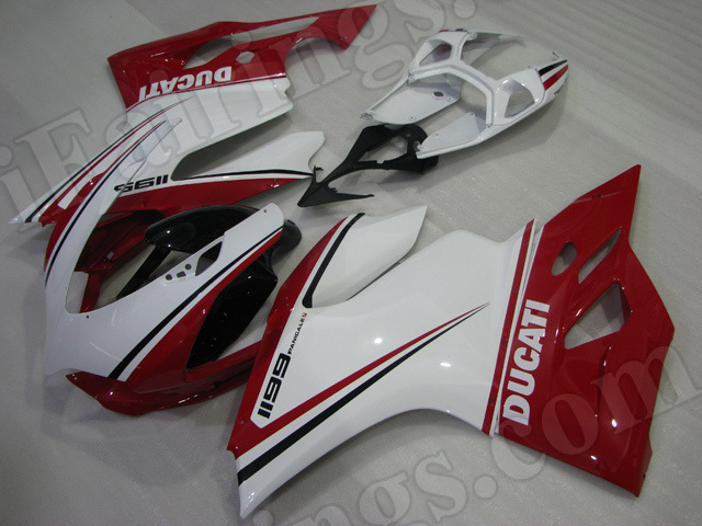 Motorcycle fairings/bodywork for Ducati 899/1199 tricolore limited edition.