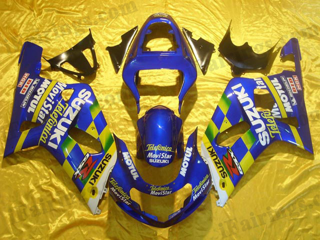 gixxer 2001 2002 2003 GSXR600/750 Movistar replica fairings