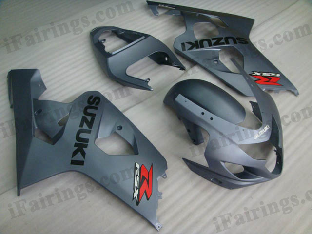 GSXR600/750 2004 2005 grey fairing kits.