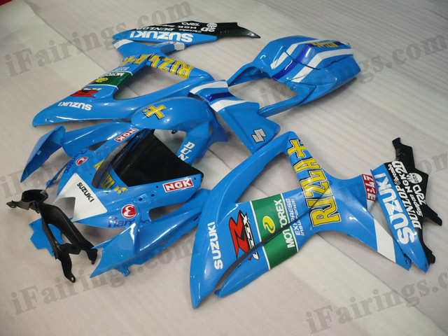 2008 2009 2010 GSXR600/750 Rizla fairings and body kits.