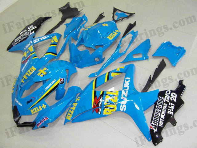 2008 2009 2010 GSXR600/750 Rizla replica fairings and bodywork.