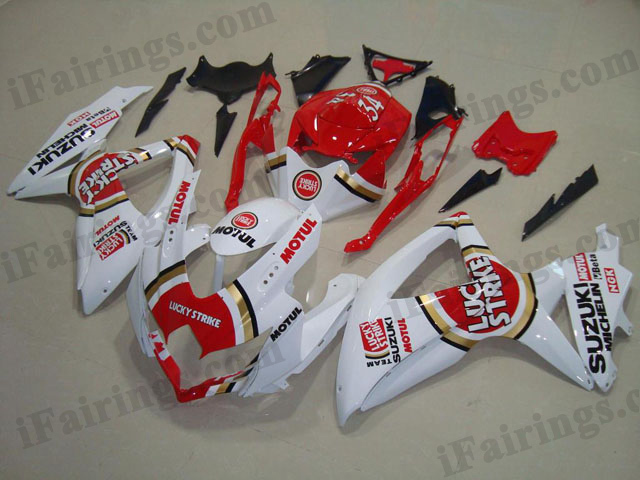 2008 2009 2010 GSXR600/750 lucky strike fairings