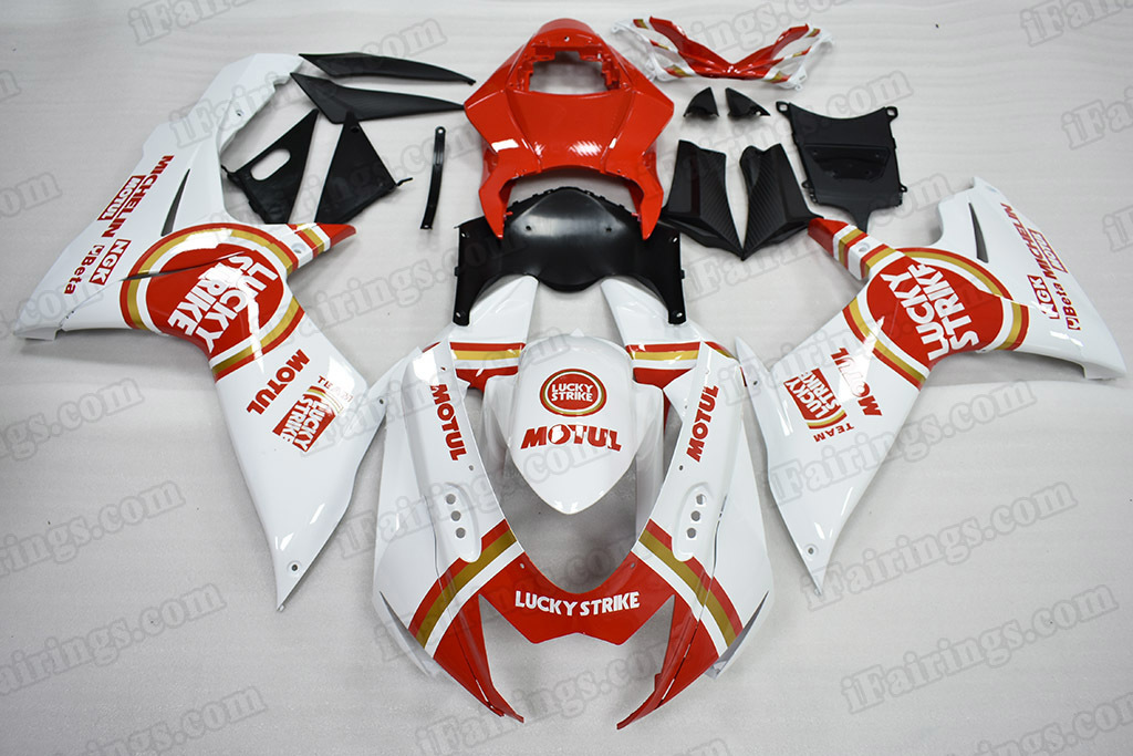 2011 2012 2013 2014 Suzuki GSX-R600/750 Lucky Strike Fairing Kit.