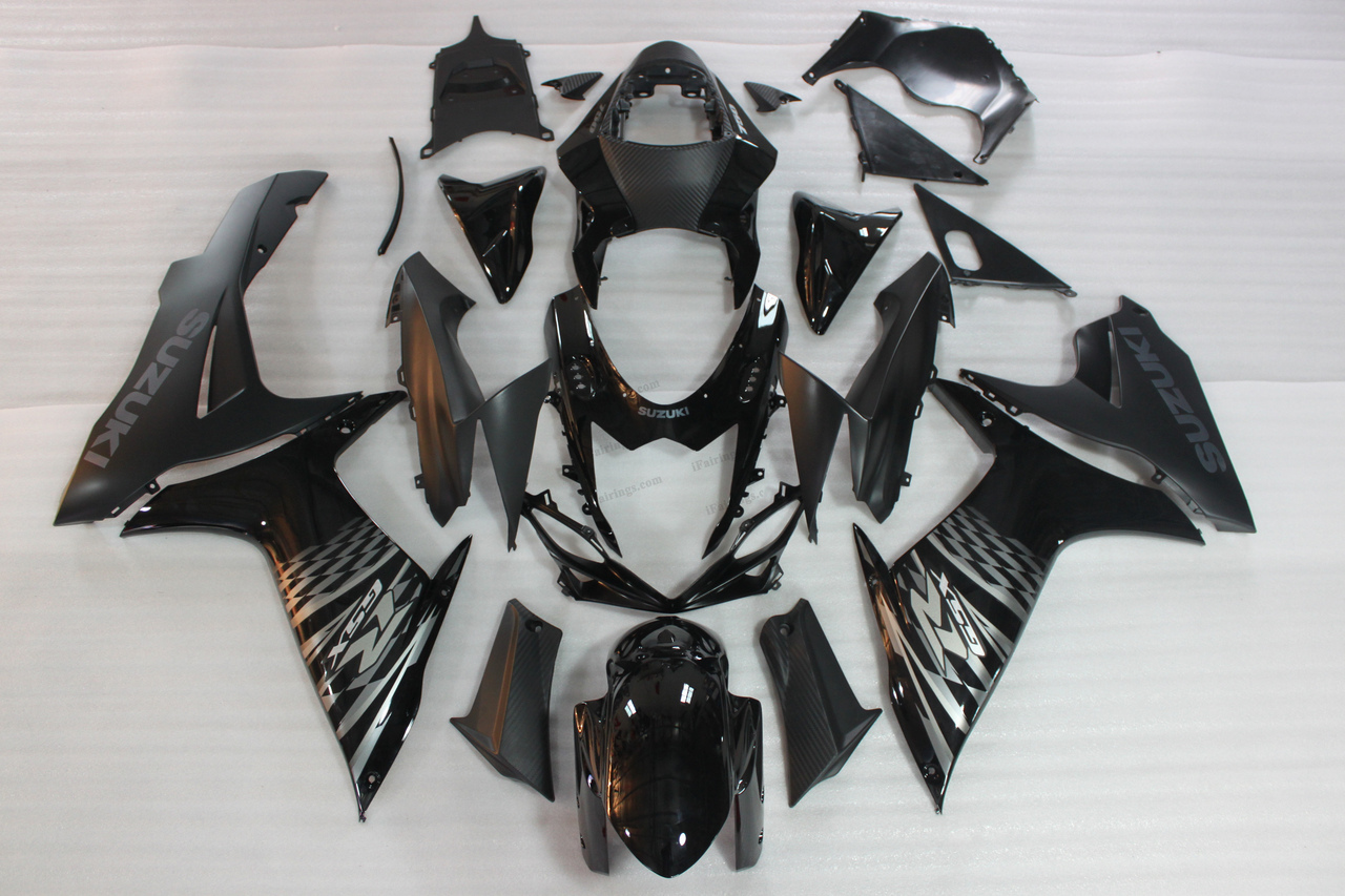 2011 2012 2013 2014 Suzuki GSXR600/750 black fairing sets.