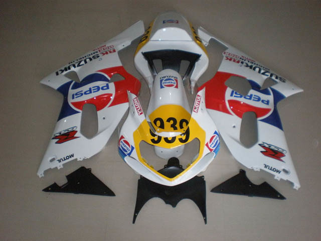 Gixxer 2001 2002 2003 GSXR600/750 PEPSI decals custom fairings
